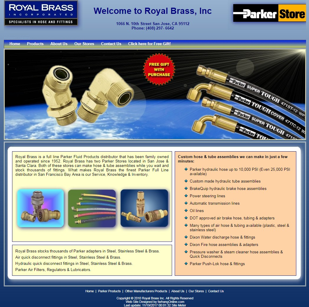 Royal Brass Inc.